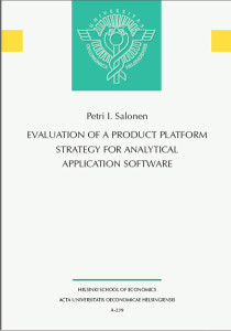 Evaluation of a Product Platform Strategy for Analytical Application Software